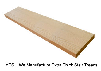 Beautiful Extra Thick Stair Treads.