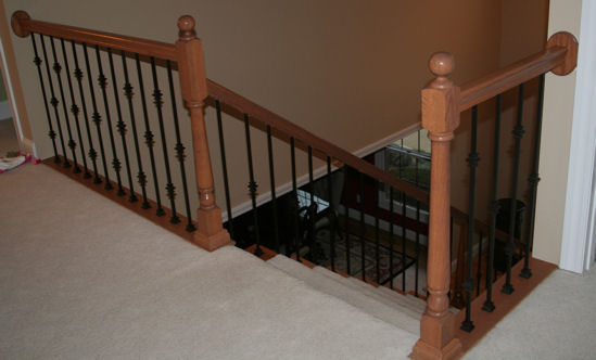 Photos Of Stairs & Railings - Hardwood Staircase Photo ...