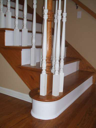 Superb Stair Treads With The Left End Openu0027 *** The Stair Treads Are U0027left Hand  Mitredu0027