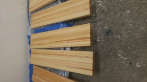 """2"""" thick stringers (approx 10' long) (Stair Parts Canada)"""