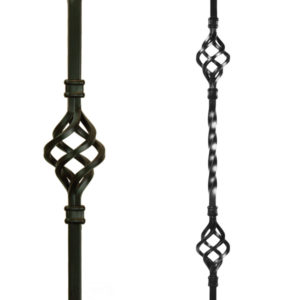 Basket Metal Balusters (Stair Parts Canada)