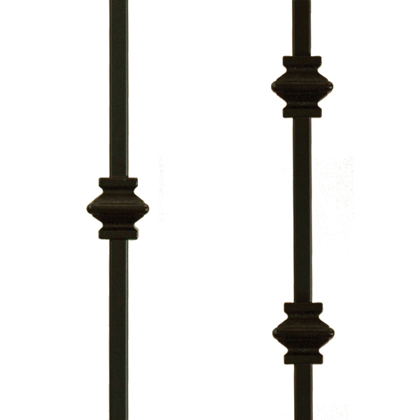 Knuckle Metal Balusters (Stair Parts Canada)