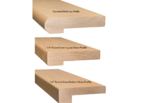 nose profiles (Stair Parts Canada)