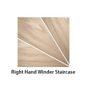right hand winder staircase shown - a270 (Stair Parts Canada)