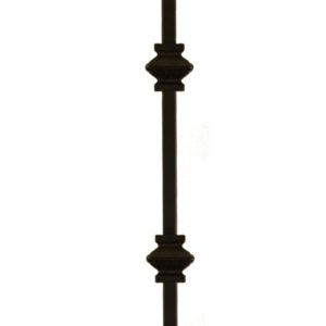 Double Knuckle Metal Baluster (Stair Parts Canada)