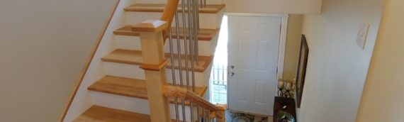 The Scotia Stairs Installers are working hard this summer